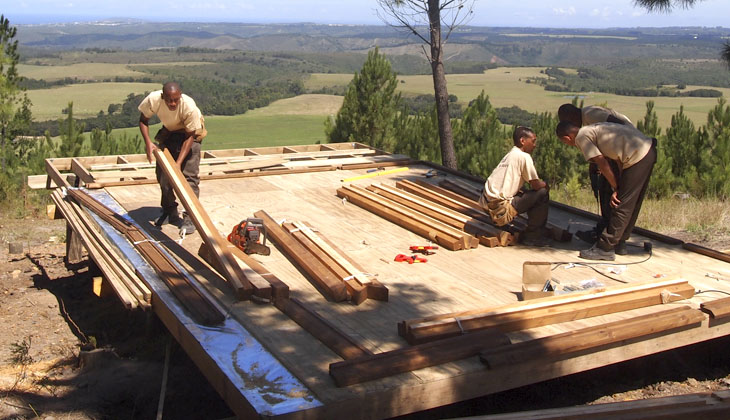 Timber House Construction Company South Africa